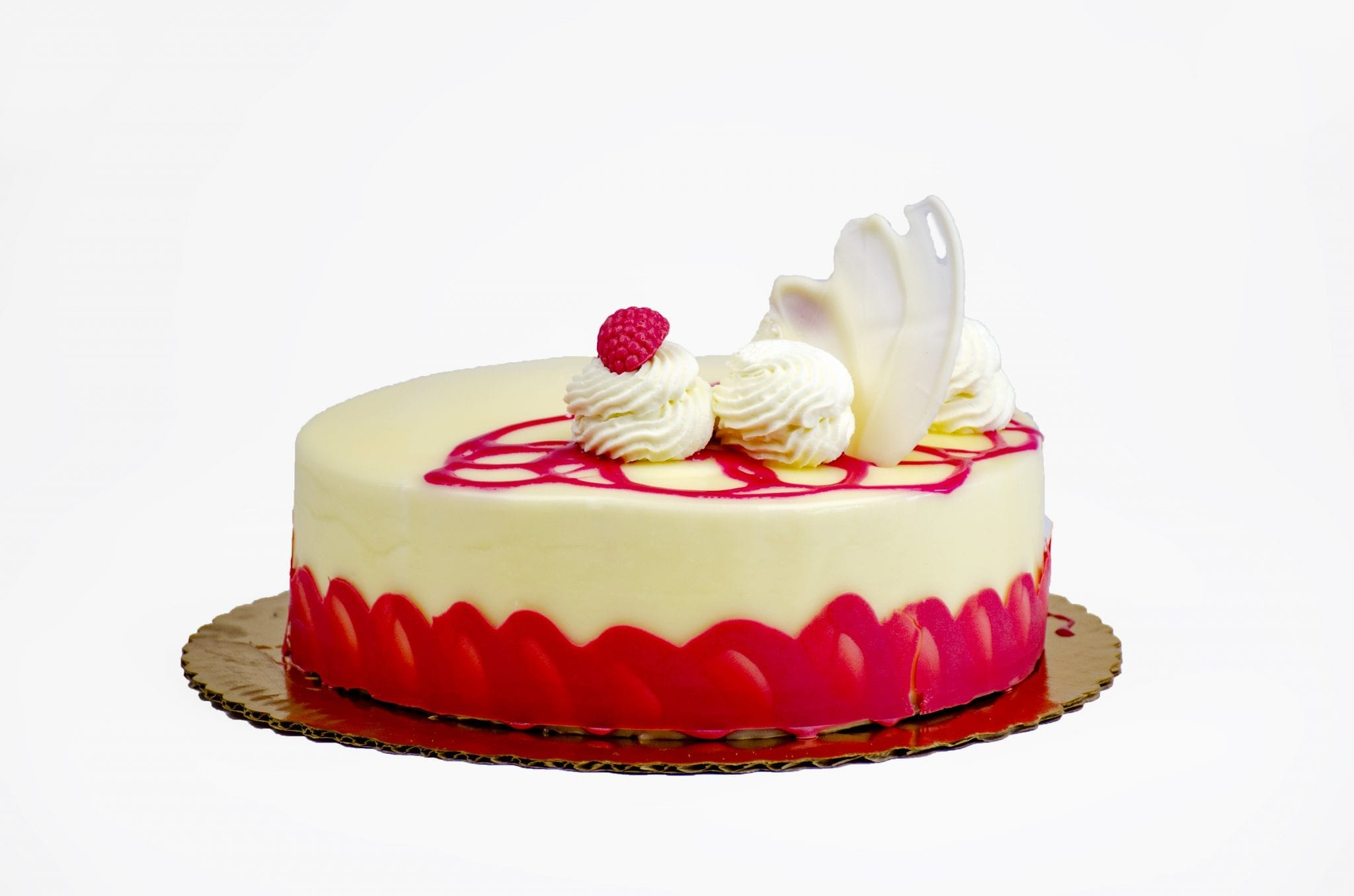 White Chocolate Raspberry Charlotte